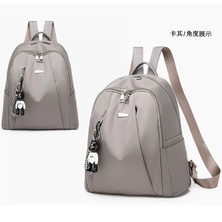 B813464 JKT IDR.162.000 MATERIAL NYLON SIZE L30XH33XW15CM WEIGHT 450GR COLOR GRAY