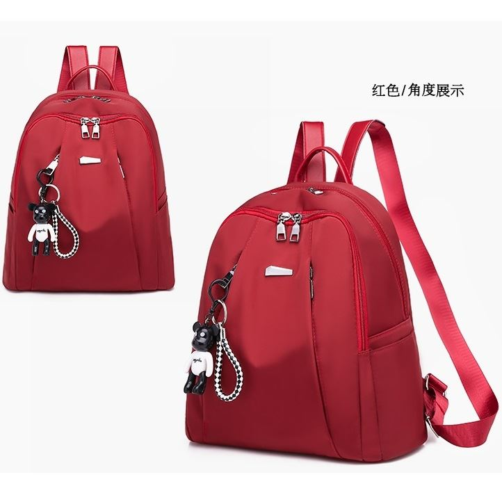 B813464 JKT IDR.162.000 MATERIAL NYLON SIZE L30XH33XW15CM WEIGHT 450GR COLOR RED