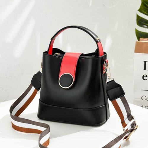 B8189-black Tas Selempang Wanita Cantik Import Terbaru