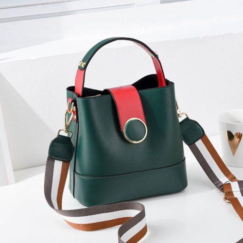 B8189-green Tas Selempang Wanita Cantik Import Terbaru
