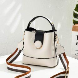 B8189-white Tas Selempang Wanita Cantik Import Terbaru