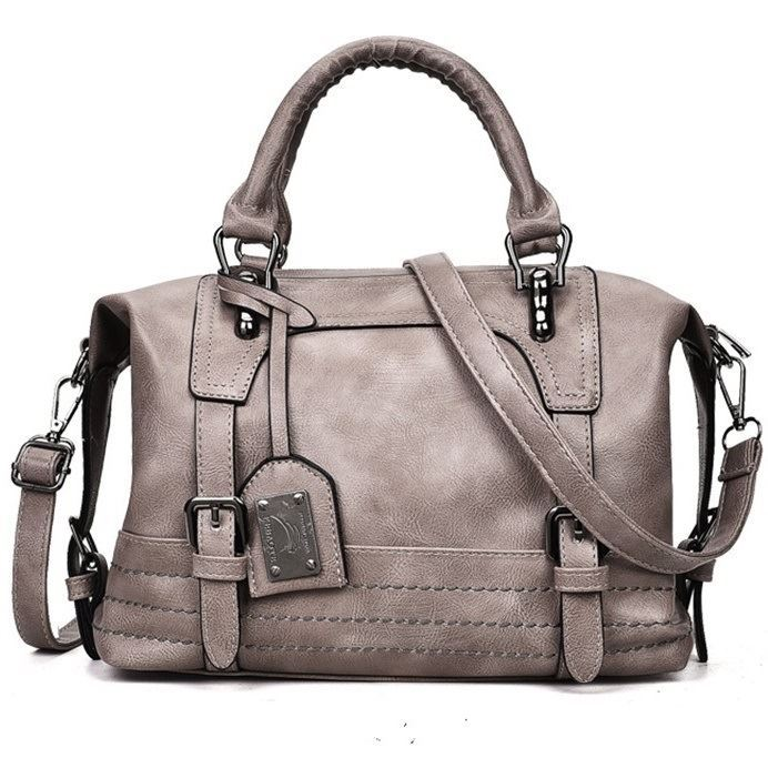 B819566 JKT IDR.172.000 MATERIAL PU SIZE L30XH24XW12CM WEIGHT 600GR COLOR GRAY