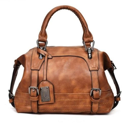 B819566-brown Tas Handbag Casual Cantik Terbaru