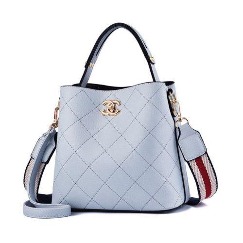 B822-blue Tas Selempang Stylish Cantik Import