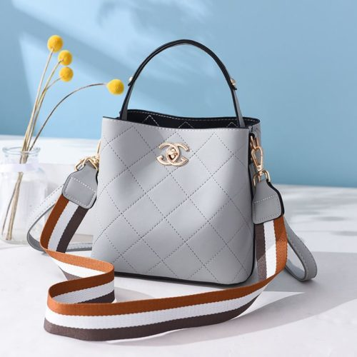 B822-gray Tas Selempang Stylish Cantik Import