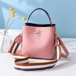 B822-pink Tas Selempang Stylish Cantik Import