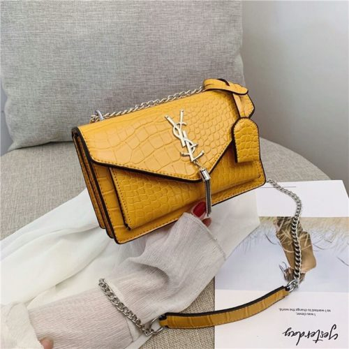 B8501 JKT MATERIAL PU SIZE L22XH14XW8CM WEIGHT 600GR COLOR YELLOW