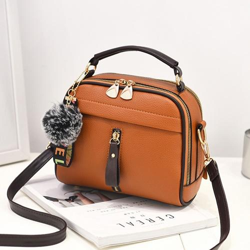 B8691 IDR.164.000 MATERIAL PU SIZE L22XH18XW11CM WEIGHT 500GR COLOR BROWN