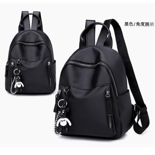 B8743 IDR.123.000 MATERIAL NYLON SIZE L23XH34XW10CM WEIGHT 450GR COLOR BLACK