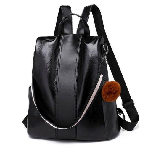 B8778-black Tas Ransel Fashion Stylish Wanita Elegan