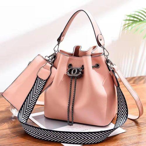 B88012-pink Tas Pesta Wanita Elegan Import Terbaru