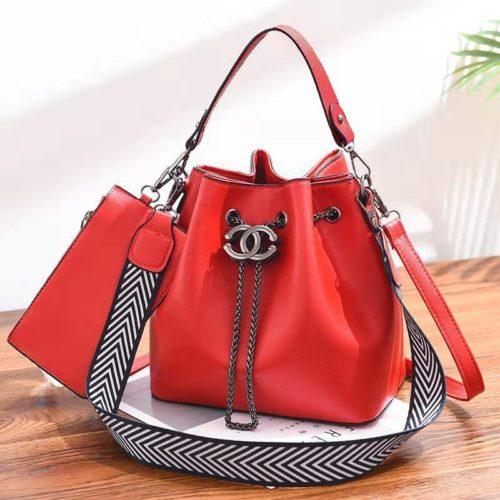B88012-red Tas Pesta Wanita Elegan Import Terbaru