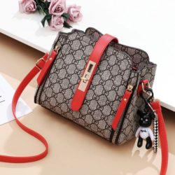 B88090 JKT IDR.156.000 MATERIAL PU SIZE L19.5XH18.5XW10CM WEIGHT 550GR COLOR GDRED
