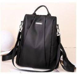 B8816-black Tas Ransel Wanita Cantik Kekinian Import