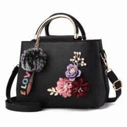 B8859-black Tas Fashion Import Wanita Cantik
