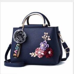 B8859-blue Tas Fashion Import Wanita Cantik