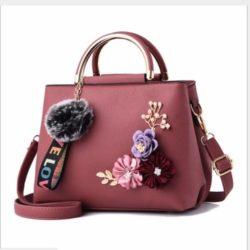 B8859-darkpink Tas Fashion Import Wanita Cantik
