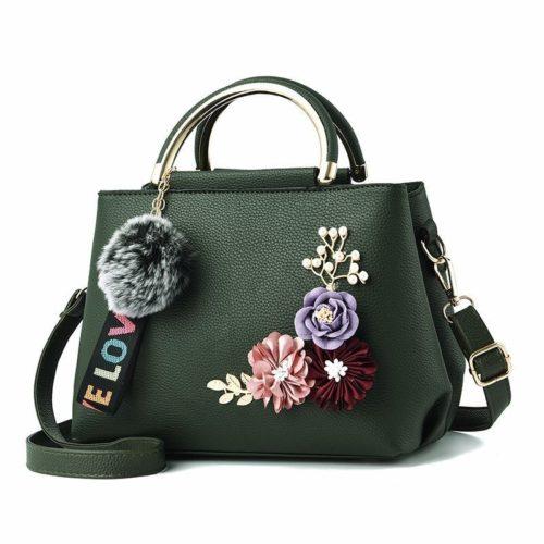 B8859-green Tas Fashion Import Wanita Cantik