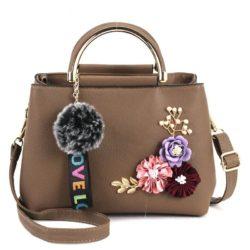 B8859-khaki Tas Fashion Import Wanita Cantik