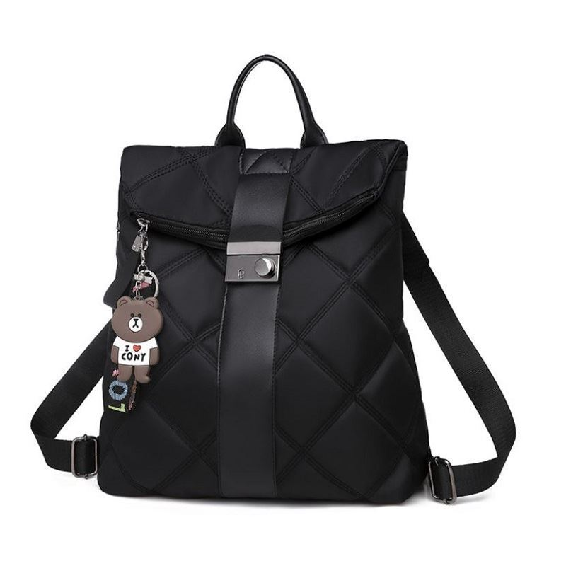 B889 JKT IDR.170.000 MATERIAL NYLON SIZE L30XH38XW14.5CM WEIGHT 550GR COLOR BLACK
