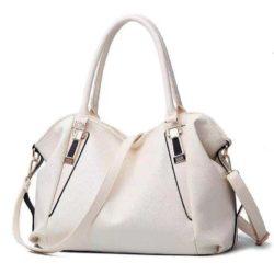 B897-white Tas Selempang Wanita Stylish