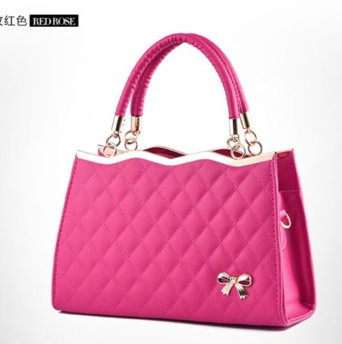 B9360 IDR.132.000 MATERIAL PU SIZE L30XH20XW11CM WEIGHT 750GR COLOR ROSE