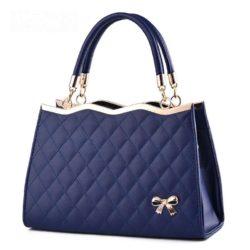 B9360-blue Tas Pesta Import Elegan