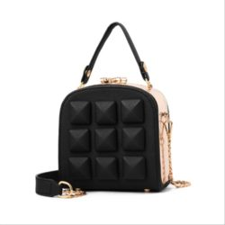 B98876 IDR.180.000 MATERIAL PU SIZE L15.5XH16XW8.5CM WEIGHT 800GR COLOR BLACK