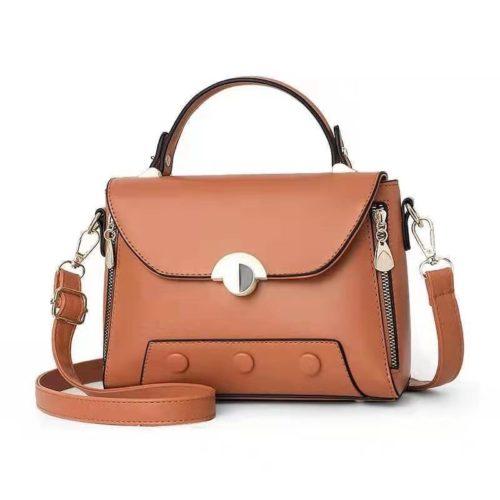 B990215-brown Tas Selempang Fashion Cantik Terbaru
