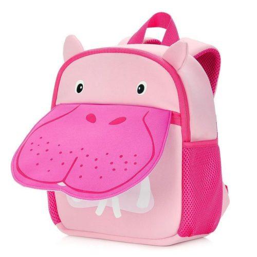 BTH001-hippo Tas Ransel Anak Motif Animal Import