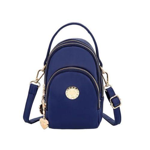 BTH048-blue Tas Slingbag Wanita Lucu Import