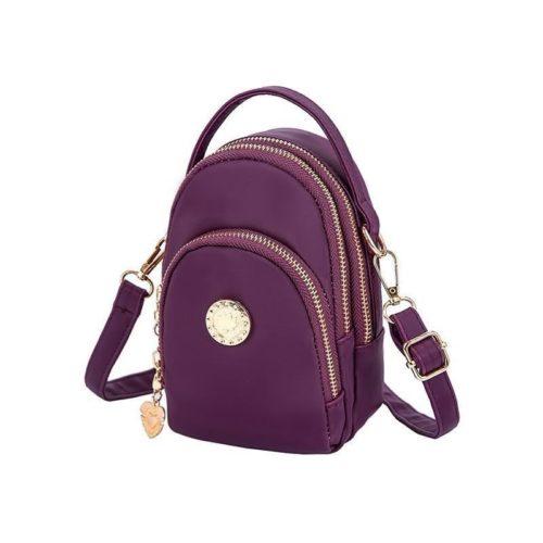 BTH048-purple Tas Slingbag Wanita Lucu Import