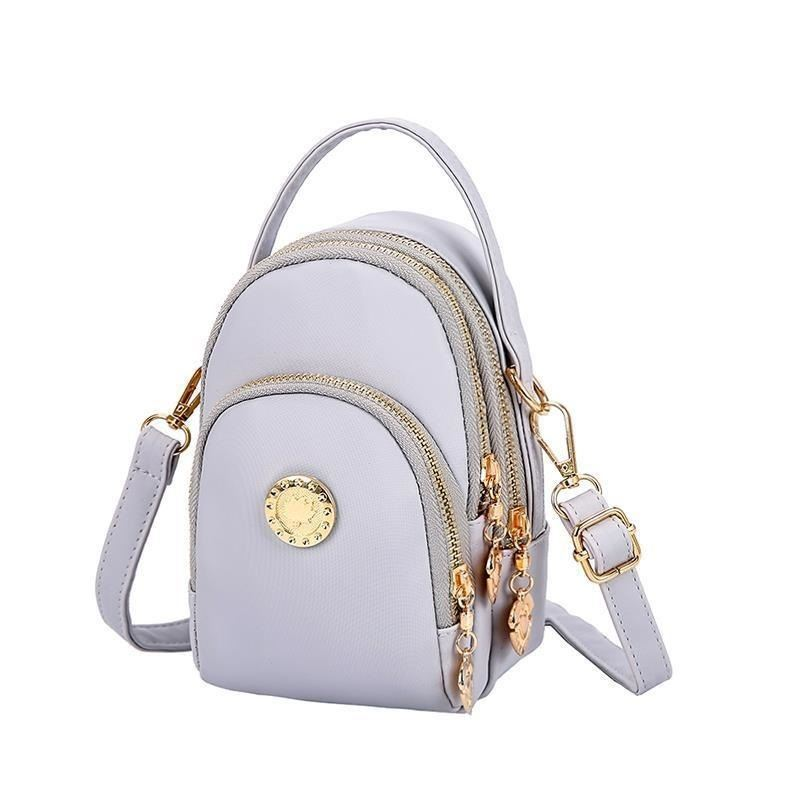 BTH048 JKT IDR.60.000  MATERIAL CANVAS SIZE L12XH18XW7CM WEIGHT 350GR (2 TALI) COLOR GRAY