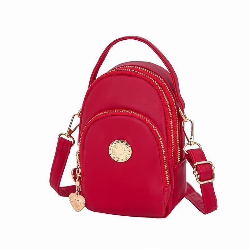 BTH048 JKT IDR.60.000  MATERIAL CANVAS SIZE L12XH18XW7CM WEIGHT 350GR (2 TALI) COLOR RED