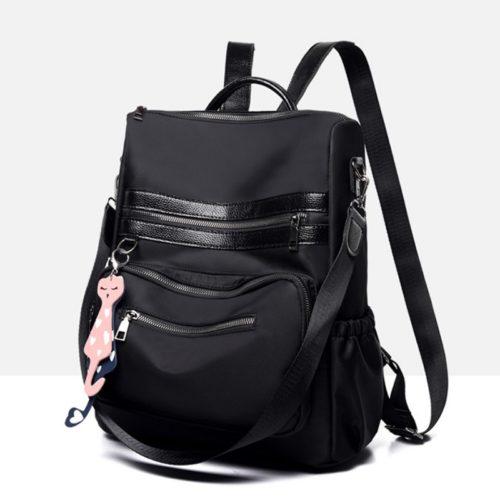 BTH1087-black Tas Ransel Fashion Wanita Cantik Import