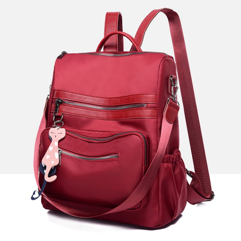 BTH1087-red Tas Ransel Fashion Wanita Cantik Import