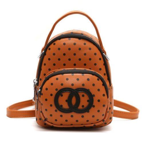 BTH123454-brown Tas Sling Bag Mini Imut Wanita Cantik