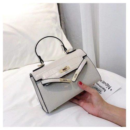 BTH125452-beige Tas Handbag Selempang Wanita Elegan Cantik