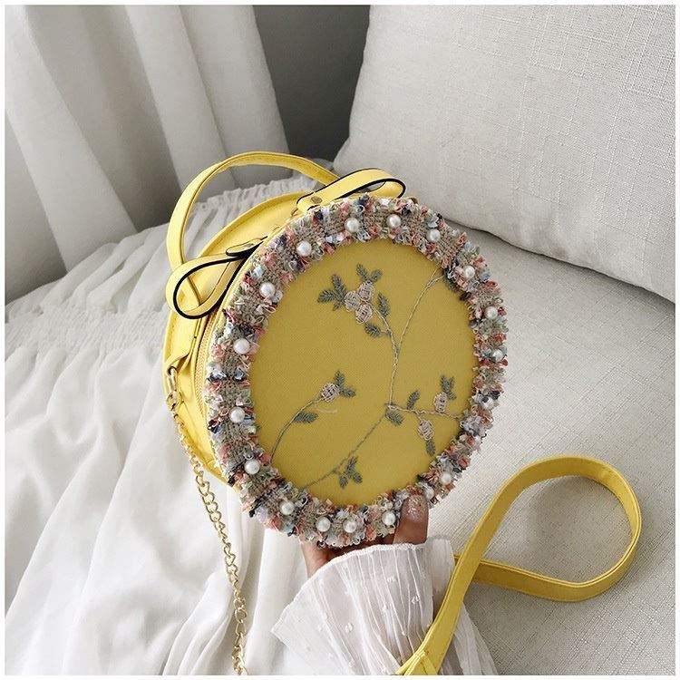 BTH13397 IDR.50.000 MATERIAL PU+LACE SIZE L19XH19XW6CM WEIGHT 250GR COLOR YELLOW