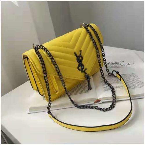 BTH134340 JKT IDR.60.000 MATERIAL PU SIZE L23.5XH15XW9CM WEIGHT 550GR COLOR YELLOW