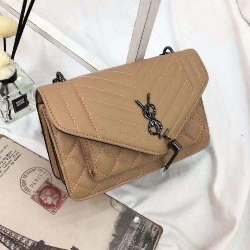 BTH134340-khaki Tas Slingbag Cantik Modis Kekinian