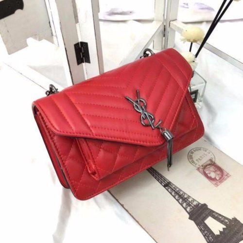 BTH134340-red Tas Slingbag Cantik Modis Kekinian