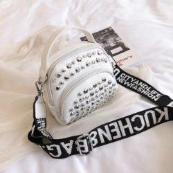 BTH15542-white Tas Selempang Wanita Fashion Import