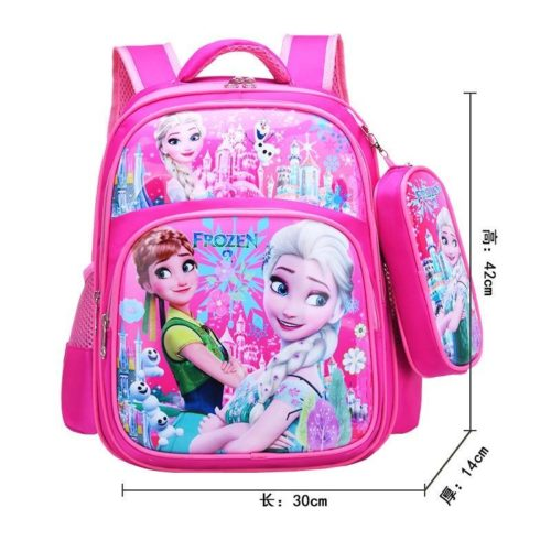 BTH191-frozen Tas Ransel Sekolah Anak Import Terbaru