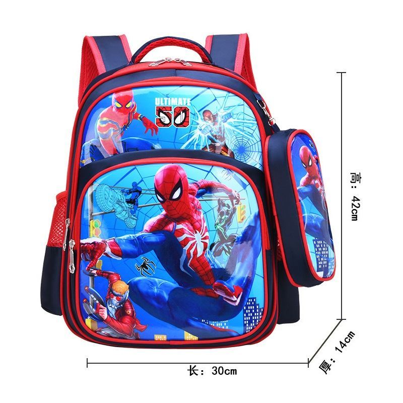 BTH191 (2IN1) JKT IDR.80.000 MATERIAL HQ-NYLON SIZE L35XH41XW17CM WEIGHT 700GR COLOR SPIDERMAN