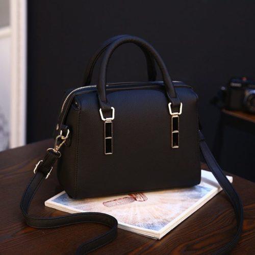 BTH8993-black Tas Selempang Wanita Cantik Import