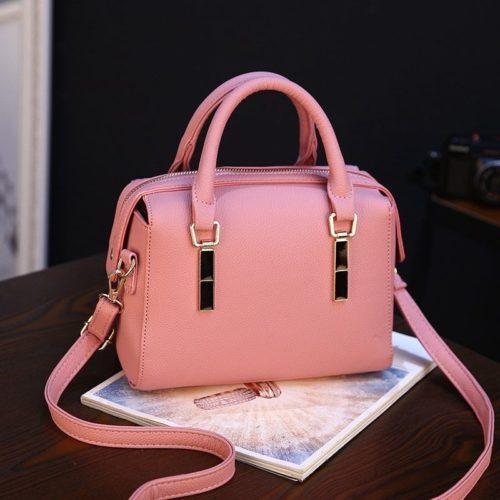 BTH8993-pink Tas Selempang Wanita Cantik Import