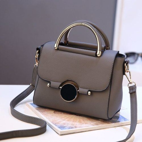 BTH9085 JKT IDR.83.000 MATERIAL PU SIZE L22XH16XW12CM WEIGHT 700GR COLOR DARKGRAY