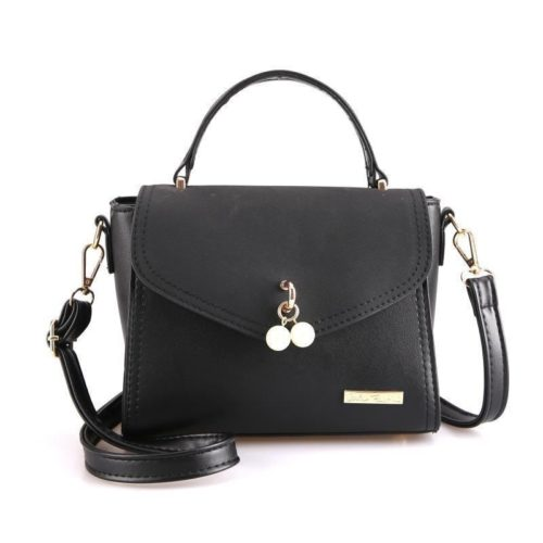 BTH96198-black Tas Selempang Colourful Fashion Import