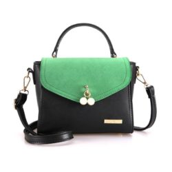 BTH96198-green Tas Selempang Colourful Fashion Import